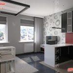 Квартира-студия в Харькове