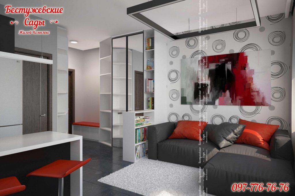 Квартиры студию с ремонтом в Харькове