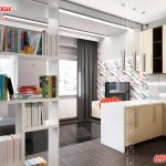 дизайн маленьких квартир студий