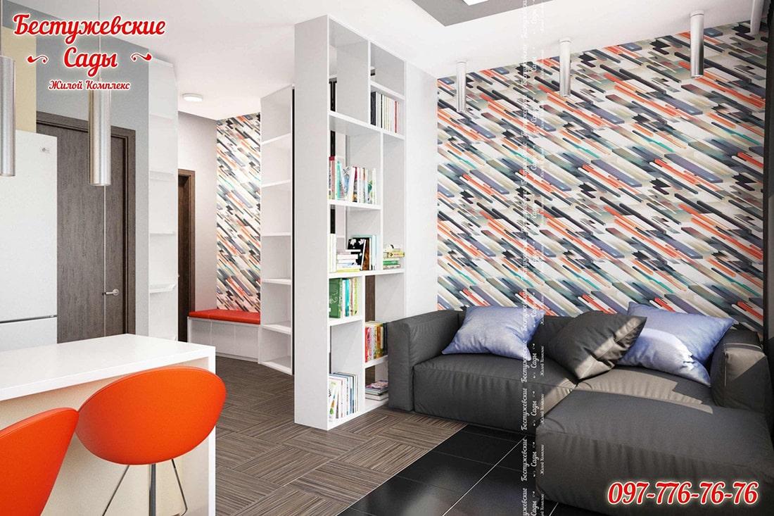 дизайн проект квартир студии