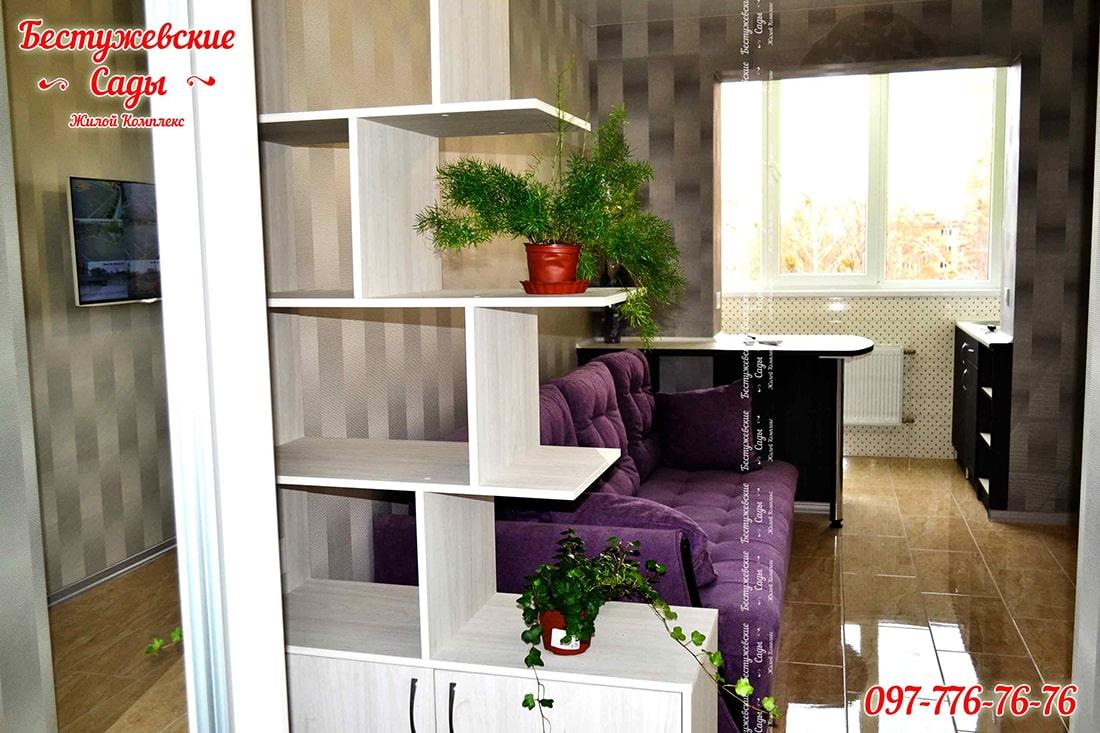 дизайн очень маленькой квартиры студии