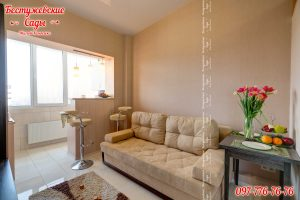 Принцип дизайна 1-комнатной квартиры
