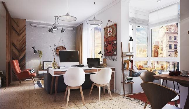 Как сэкономить пространство в маленькой квартире?