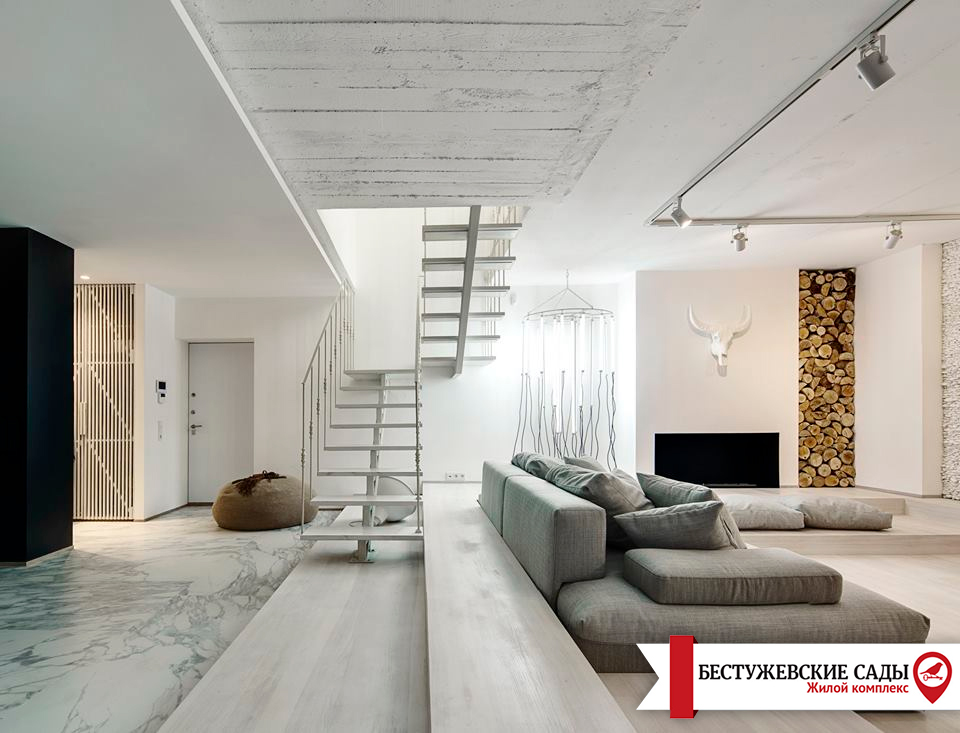 Порівняння дворівневої квартири з двоповерховим будинком