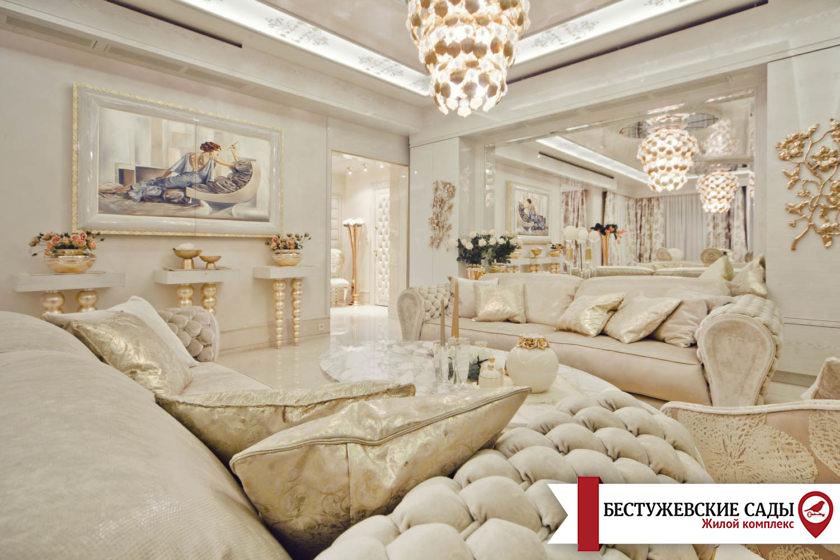 Стиль бароко в інтер'єрі квартири або будинку