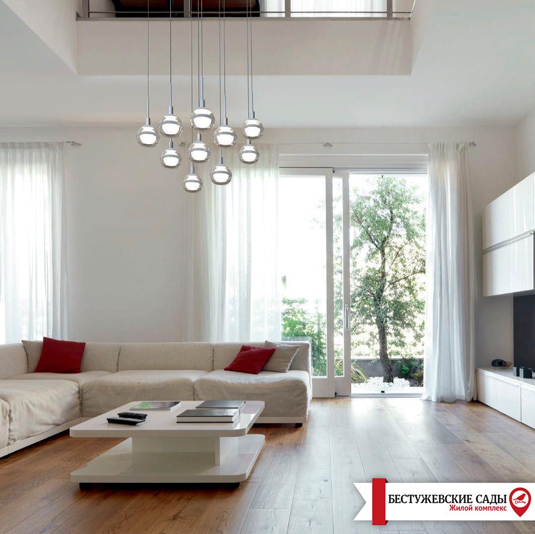 Як правильно зробитирозміщення меблів, щоб сонячне світло рівномірно розповсюджується по кімнаті?