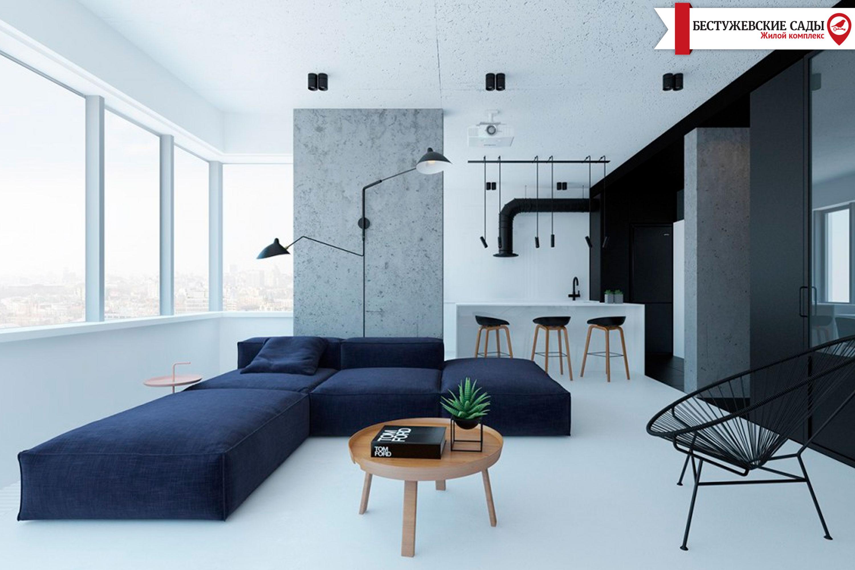 В якій квартирі найкраще застосувати стиль Мінімалізм?