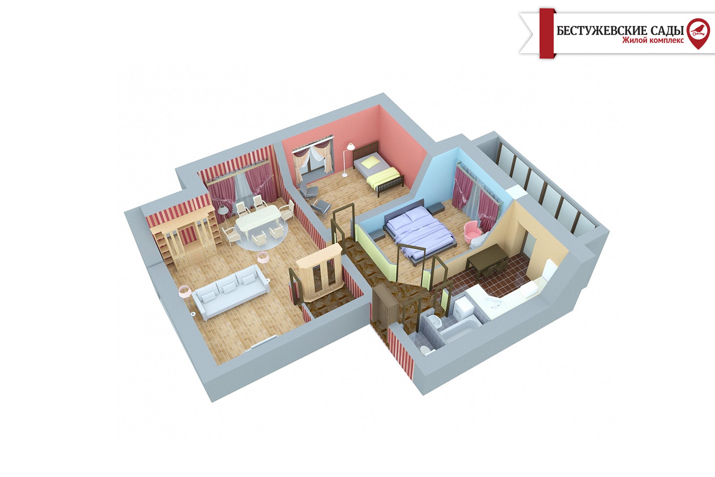 Чому трикімнатна квартира дуже дорогий і не вигідний варіант?