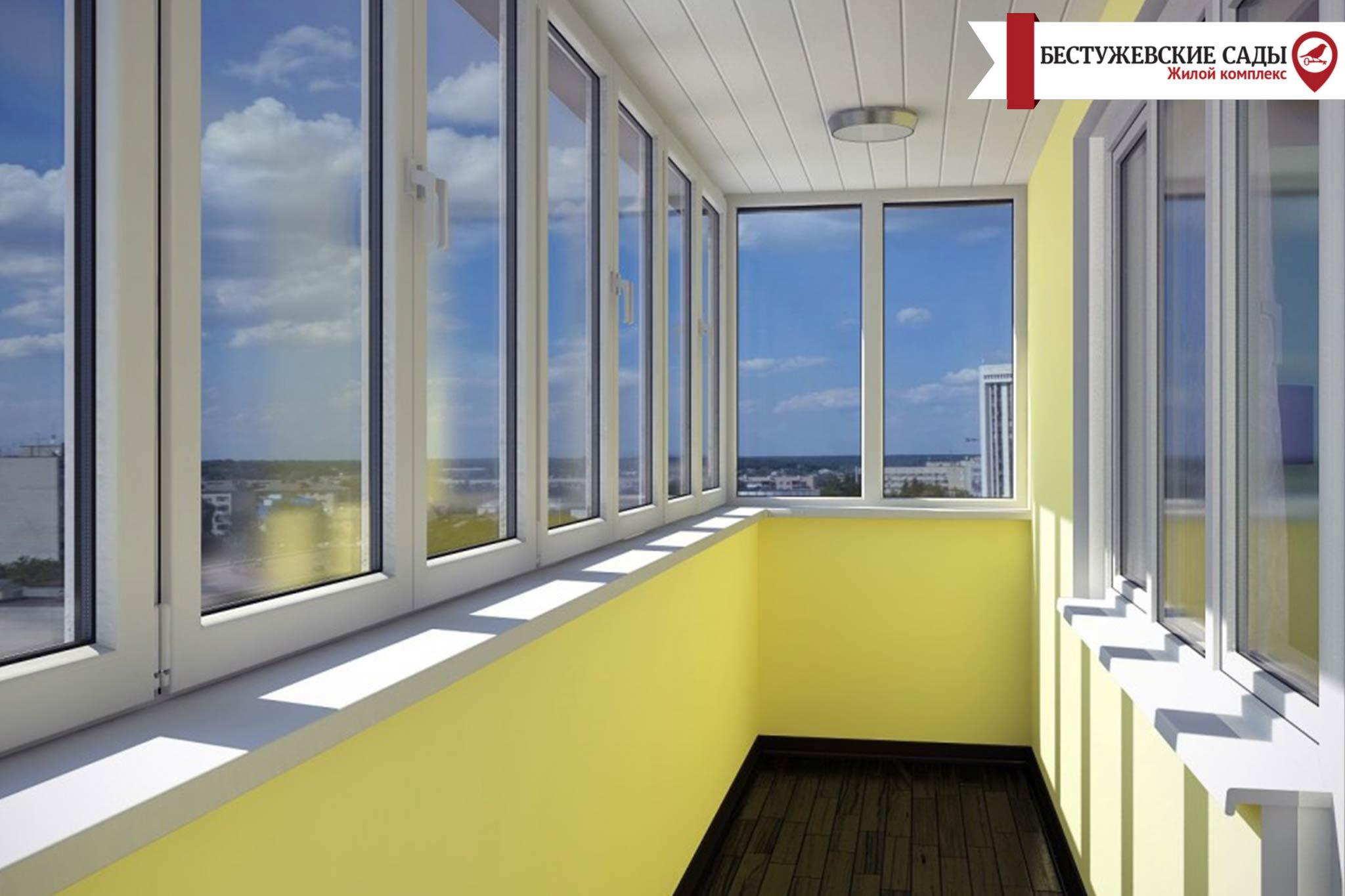 Плюси і мінуси балкона в малогабаритній квартирі.