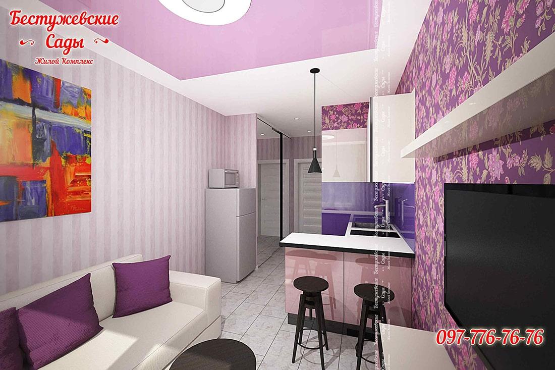 Дизайн гостинки