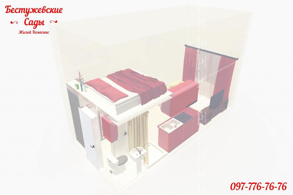 Двухэтажная квартира в рассрочку
