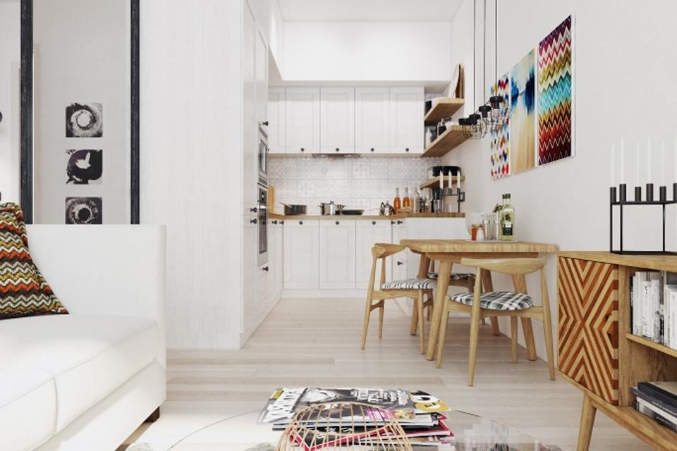 Как организовать пространство в малогабаритной квартире.