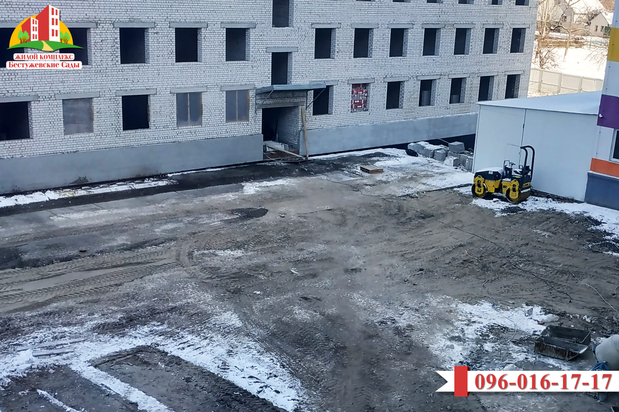 04.12.2018 Новости о строительстве ЖК «Бестужевские сады-2»