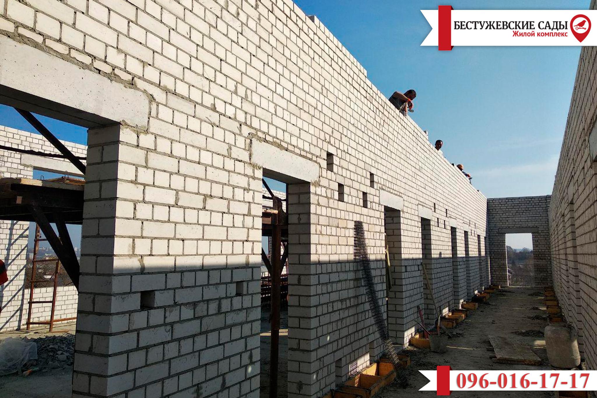 Как проходит строительство нового жилого комплекса «Бестужевские сады»?