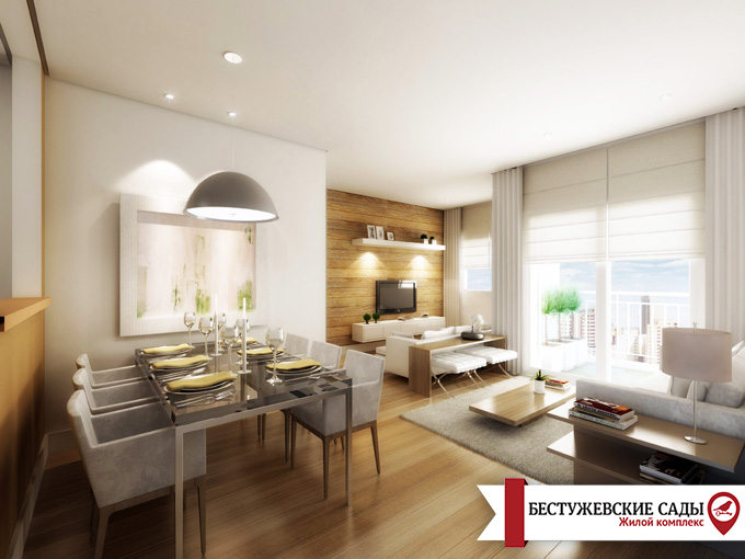 Лайфхак: как визуально расширить квартиру - студию