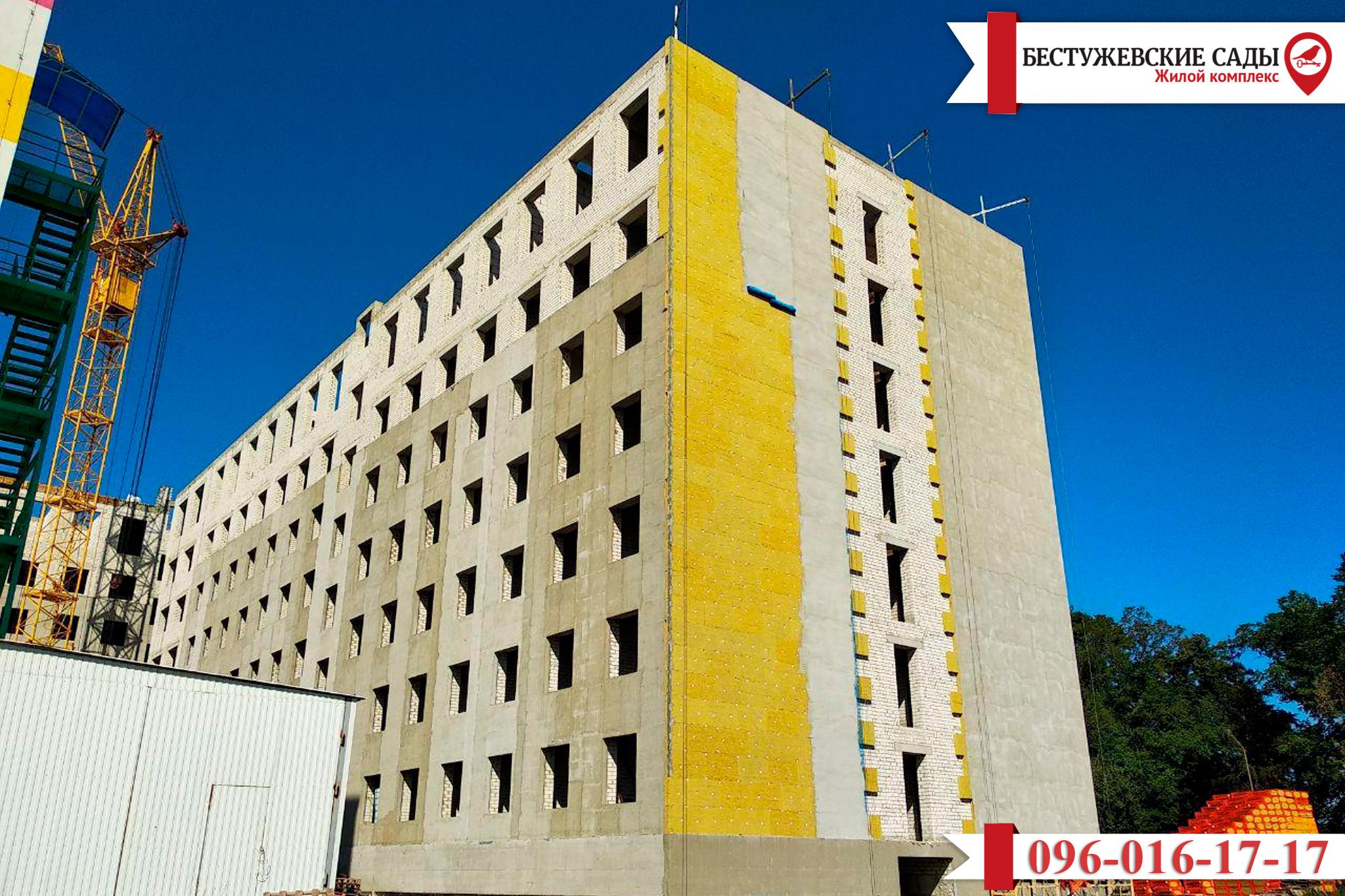 Появилась новая информация по поводу строительства дома «Бестужевские Сады»
