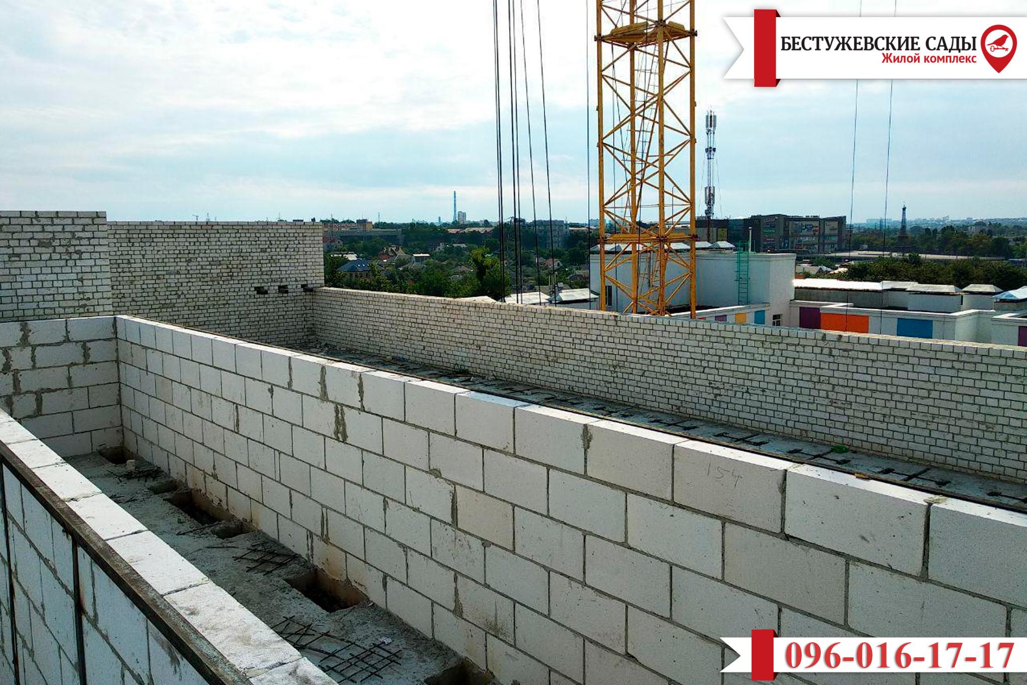 Обновлена информация о строительстве дома «Бестужевские Сады»