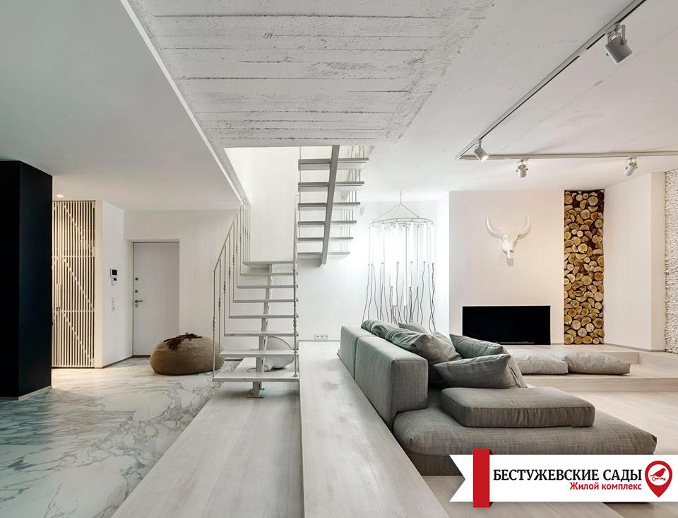 Сравнение двухуровневой квартиры с двухэтажным домом