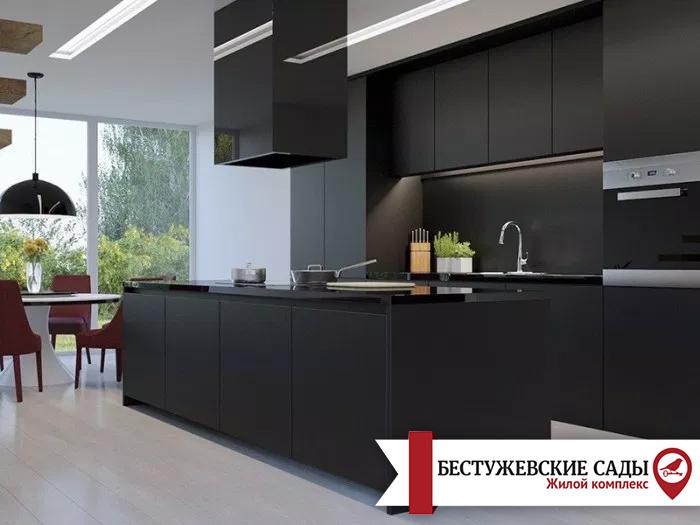 Кухня в черном цвете. 5 причин оправданного риска