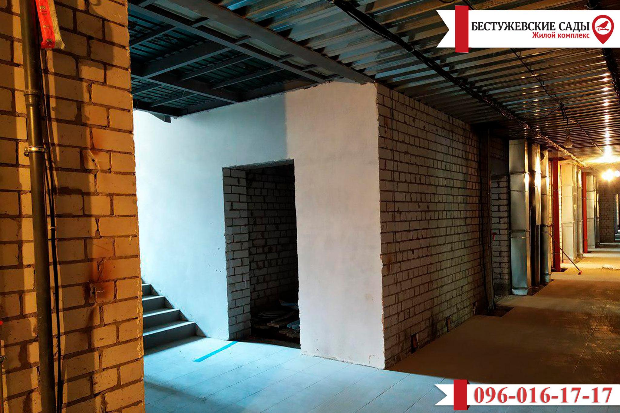 """Завершается строительство второго дома в ЖК """"Бестужевские сады""""!"""