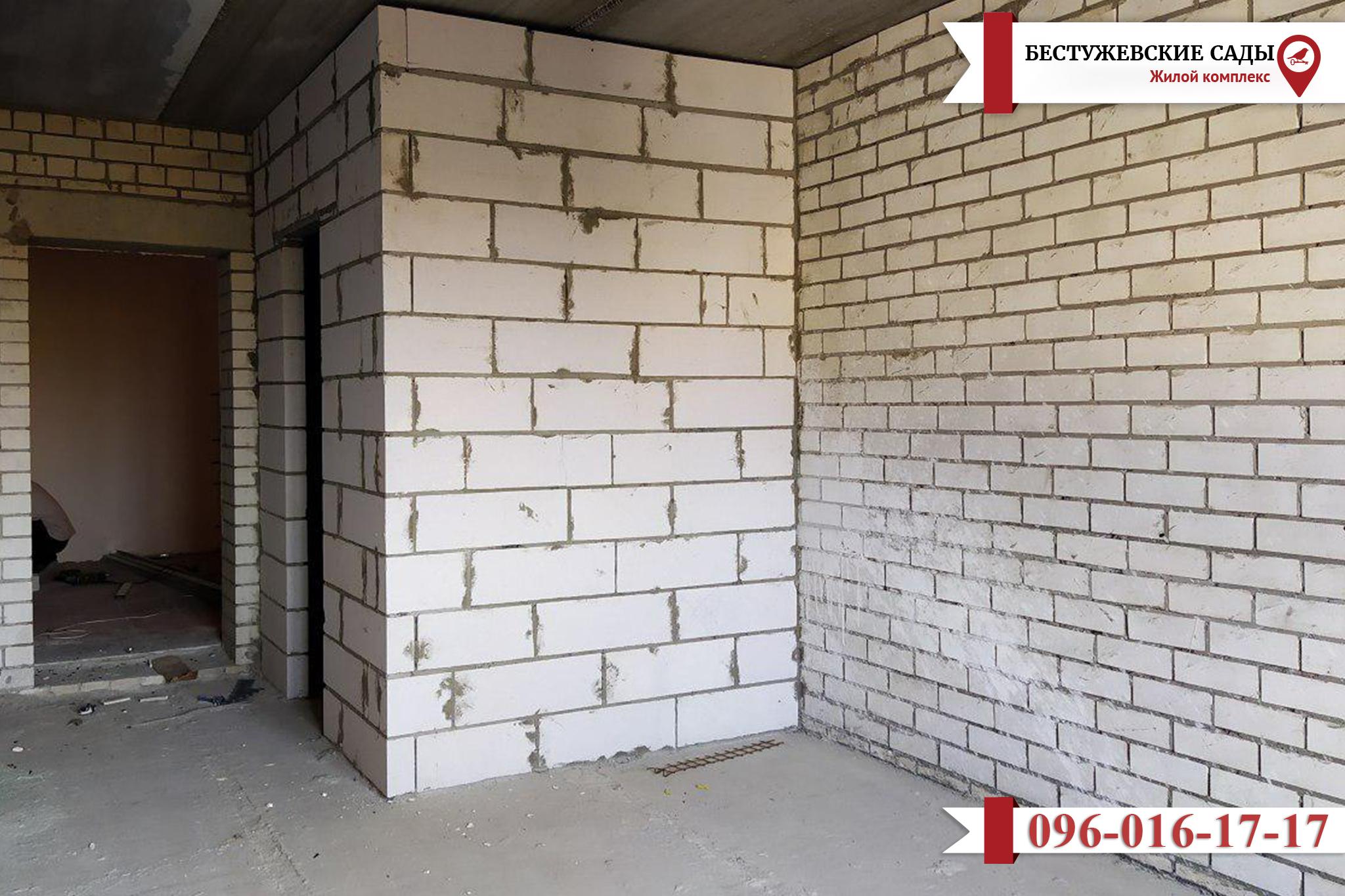 Обновилась информация со строительной площадки ЖК «Бестужевские Сады»