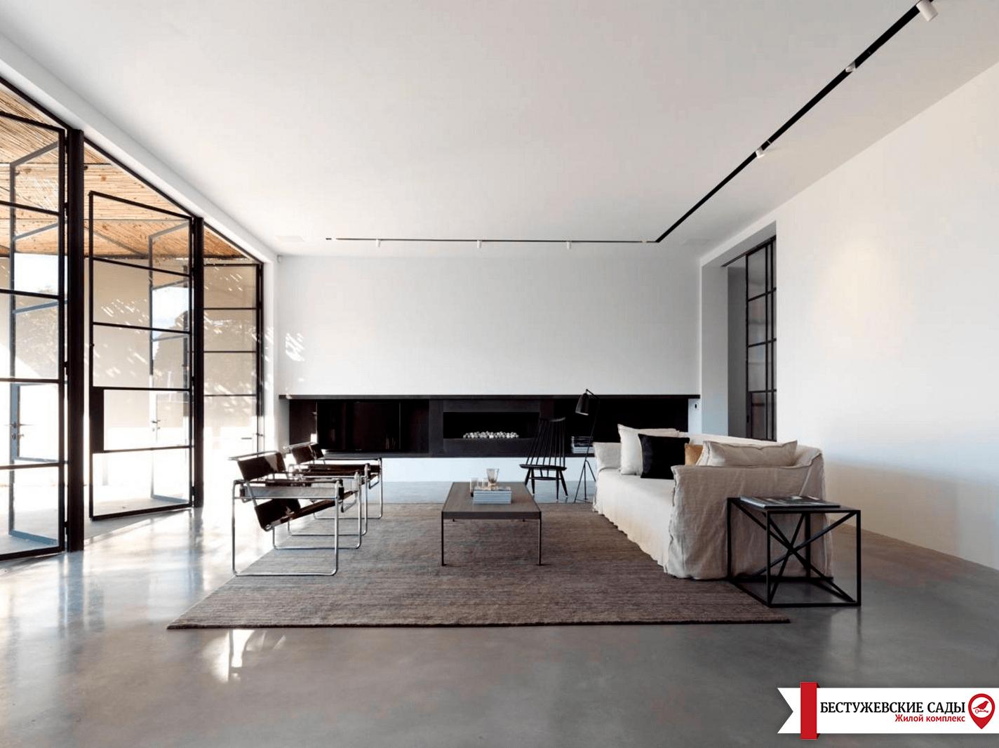 В какой квартире лучше всего применить стиль Минимализм?